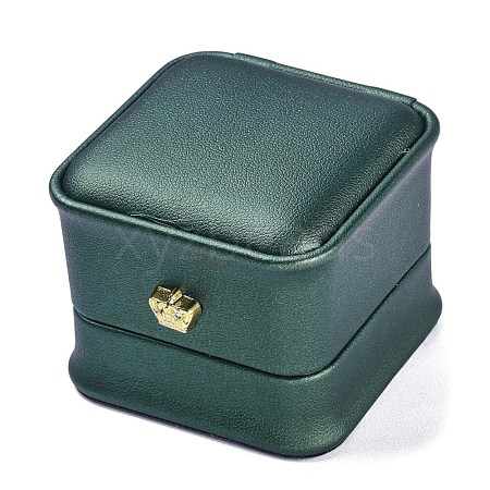 PU Leather Ring BoxX-LBOX-A002-01C-1