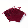 Rectangle Velvet Pouches TP-R002-10x12-02-2