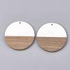 Resin & Wood PendantsX-RESI-S358-02A-01-2