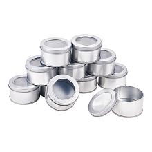 BENECREAT Round Iron Tin Cans CON-BC0005-22