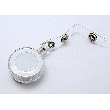 Plastic Retractable Badge ReelHJEW-H012-3-1