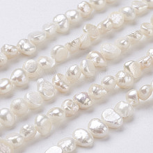 Natural Cultured Freshwater Pearl Beads Strands PEAR-P002-54