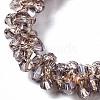 Faceted Transparent Glass Beads Stretch BraceletsBJEW-S144-001B-03-3