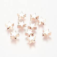Brass Beads KK-K183-01RG