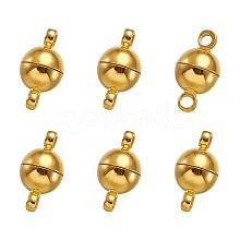 Brass Magnetic Clasps KK-TA0007-32