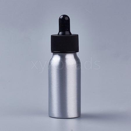 30ml Aluminium Empty Teardrop BottlesMRMJ-WH0033-01A-1