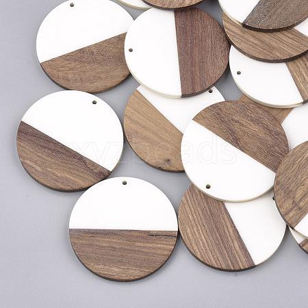 Resin & Wood PendantsX-RESI-S358-02A-01-1