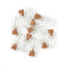 Glass Jar Glass Bottle Bead Containers X-CON-Q014