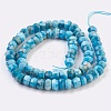 Natural Apatite Beads Strands G-F568-038-B-2