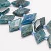 Natural Apatite Beads StrandsG-J373-23I-2