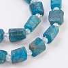 Natural Apatite Beads Strands G-F568-015-3
