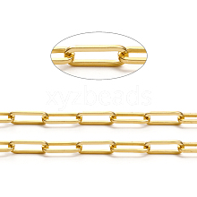 Brass Paperclip Chains CHC-L044-01A-G