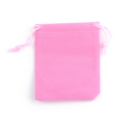 Rectangle Velvet Pouches X-TP-R022-5x7-06-1