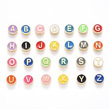 Alloy Enamel Beads ENAM-YW0001-23-RS