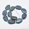 Natural Apatite Beads StrandsG-G745-17-2