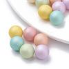 Environmental Plastic Imitation Pearl BeadsX-MACR-S277-5mm-B-1