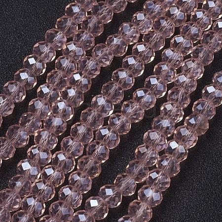 Glass Beads StrandsX-GR6MMY-39L-1