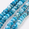 Natural Apatite Beads Strands G-F568-038-B-1